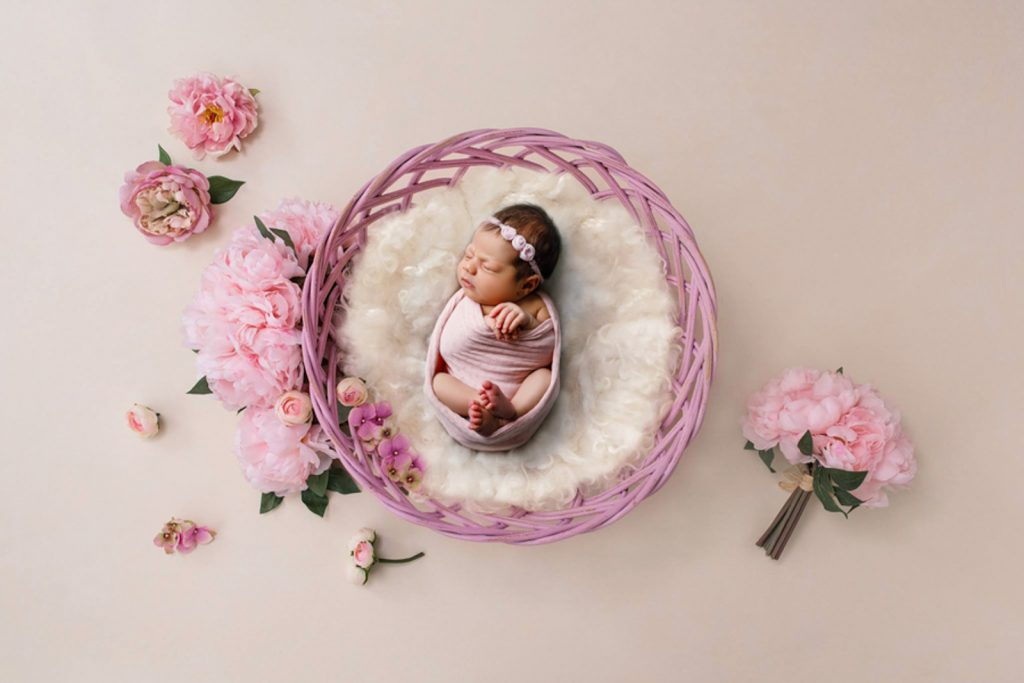 Ședință foto pentru nou născut